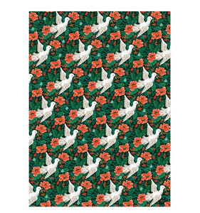 Rifle Paper Co. - Single Peace Dove Wrapping Sheet (Flat)