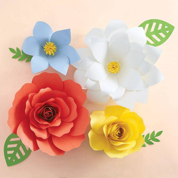 Big Bloom Garden Party Flowers DIY Craft Kit