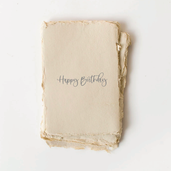 Paper Baristas - Happy Birthday Card