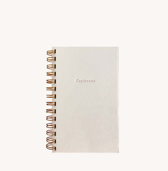 Wilde House Paper - Daydreams Weekly Planner in Bianco