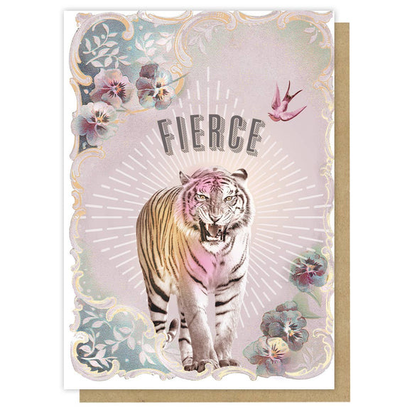 PAPAYA - Greeting Card - Fierce