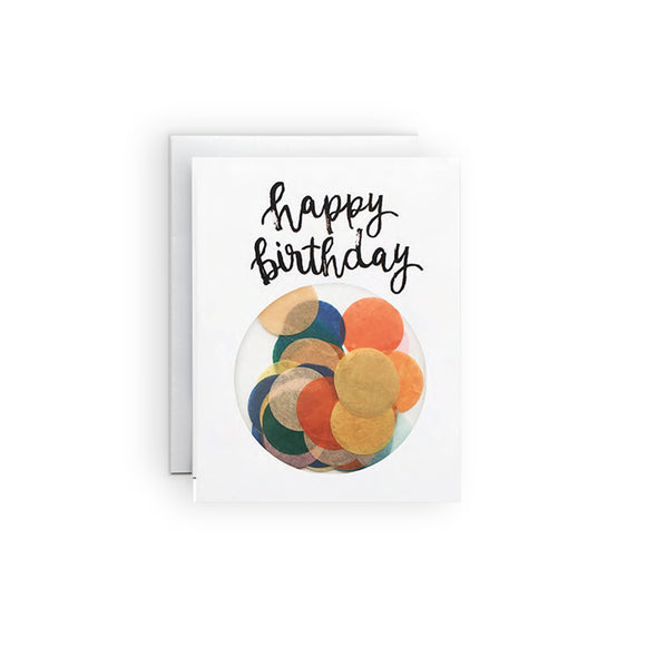 The Paper Curator - Confetti Birthday No. 8 Card