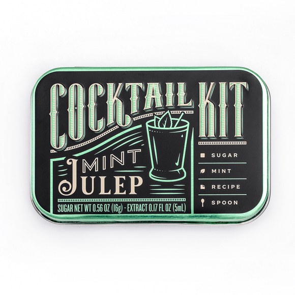 Cocktail Kit Casepack: Mint Julep