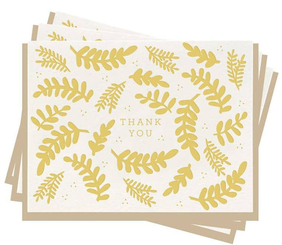 Thank You Floral - Set Of 6