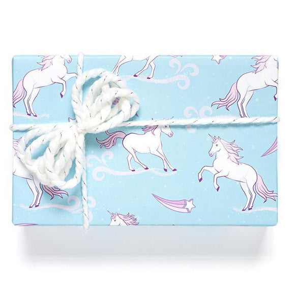 Unicorn Wrapping Paper Sheets