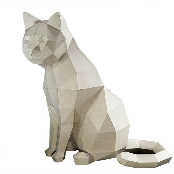 DIY Art Kit  |  Cat Model