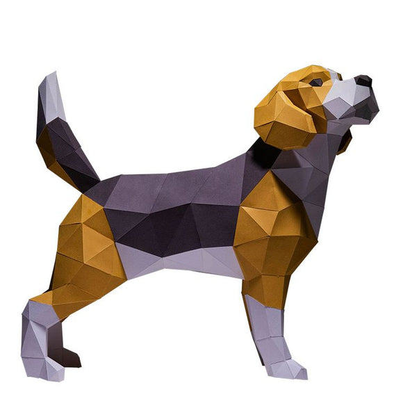 DIY Art Kit  |  Beagle Dog Model