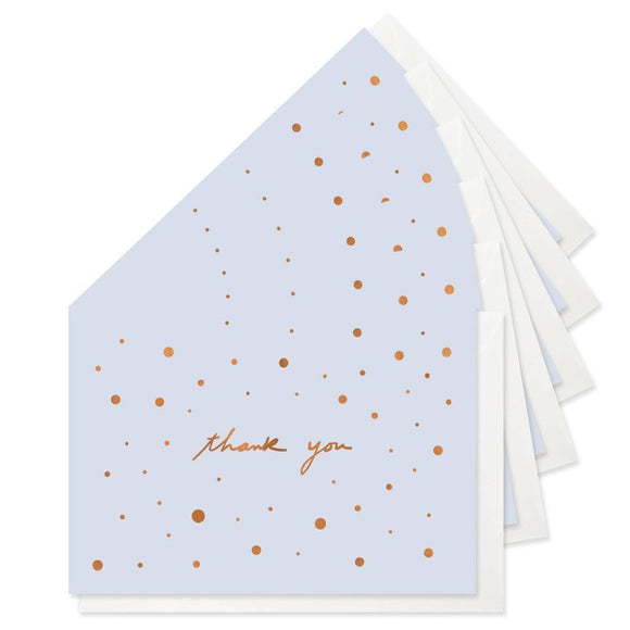 Speckled Thank You Boxed Set Of 6 Cards