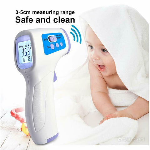 Medical NON-CONTACT Body Forehead IR Infrared Laser Digital Thermometer LED - [www.theislanddealsnow.com]