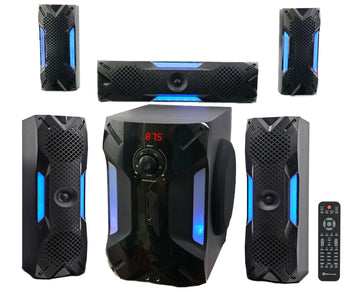 Home Theater System 5.1 Channel Bluetooth USB+8