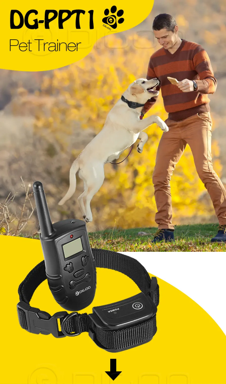 Dog Stop Barking Collars Trainer Remote Dog Training Collar - [www.theislanddealsnow.com]