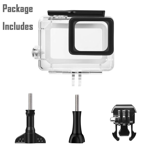 Waterproof Housing Case for GoPro Hero 7 Black 6 5 Protective Shell with Bracket - [www.theislanddealsnow.com]