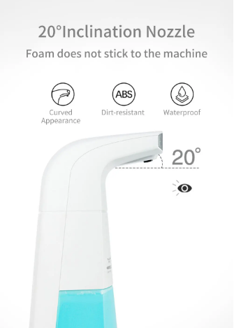 Automatic Inducting Foaming Soap Dispenser Intelligent Infrared Sensor Touchless Liquid Foam Hand Sanitizers Washer - [www.theislanddealsnow.com]