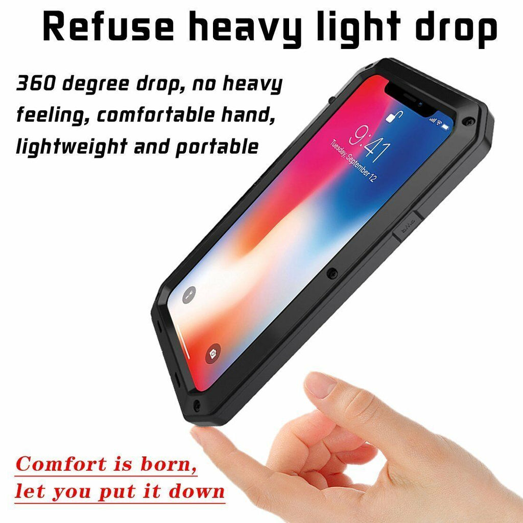 Heavy Duty Metal Aluminum Protection Case - [www.theislanddealsnow.com]