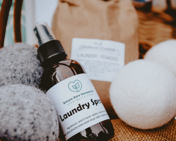 Laundry Spray - Simple Bare Necessities