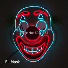 Load image into Gallery viewer, LED Glowing Mask