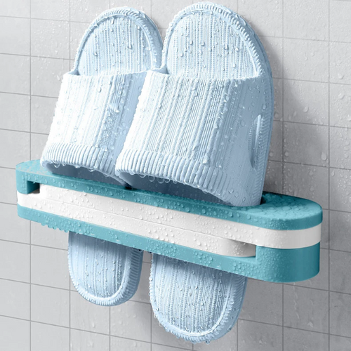 3 in 1 Folding Rack / Slipper Rack / Towel Rack / Wall Mounted