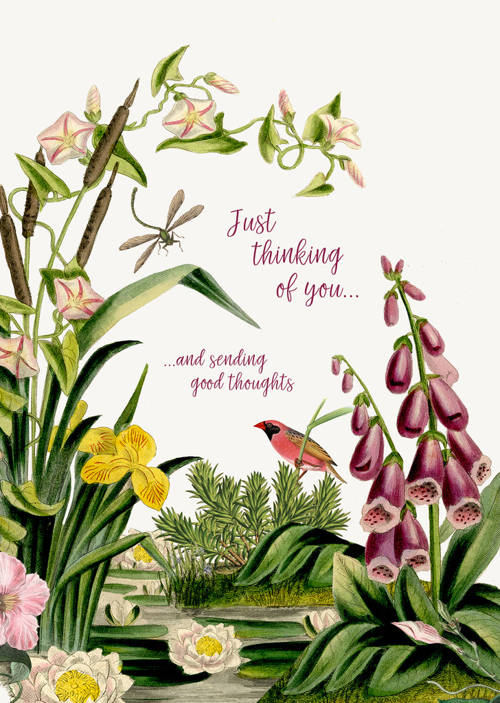 Just thinking of you • 5x7 Greeting Card