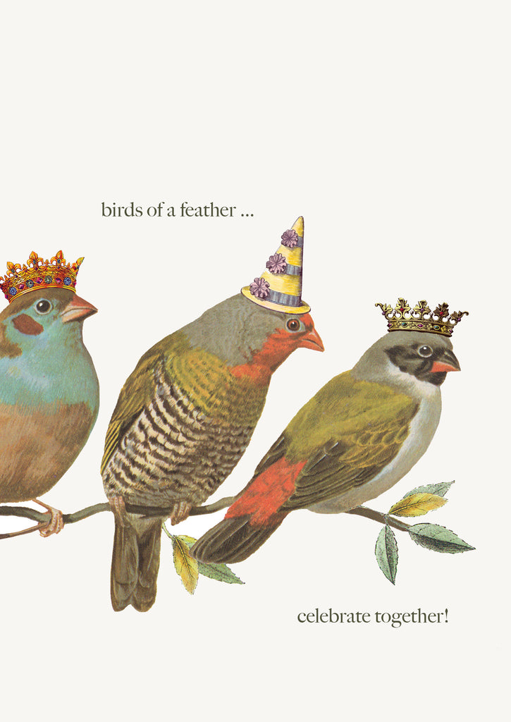 Birds of a Feather • 5x7 Greeting Card