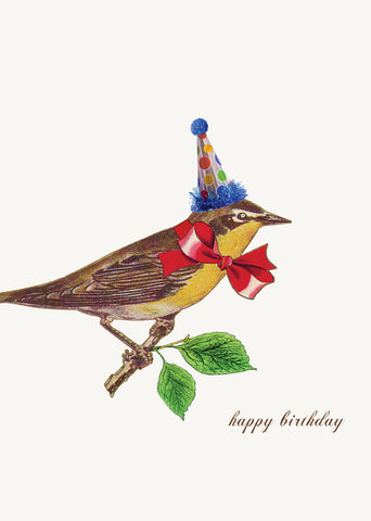 Happy Birthday Bird • 5x7 Greeting Card