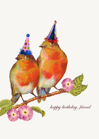 Happy Birthday Friend • 5x7 Greeting Card