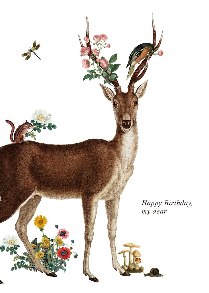 Happy Birthday My Dear • 5x7 Greeting Card