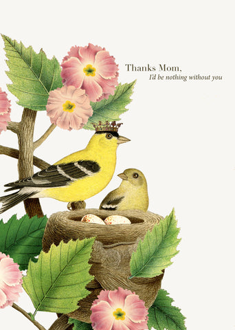 Thanks, Mom • 5x7 Greeting Card