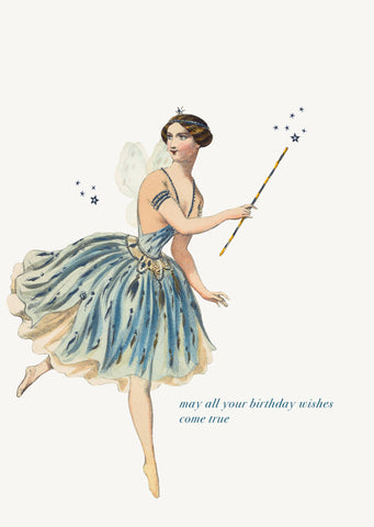 May All Your Birthday Wishes Come True • 5x7 Greeting Card