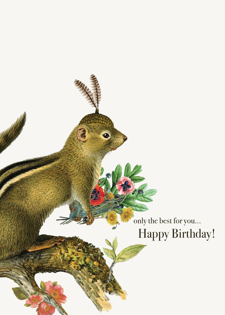 Only The Best For You... Happy Birthday! • 5x7 Greeting Card