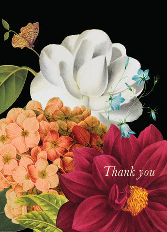 Thank You Flowers • 5x7 Greeting Card