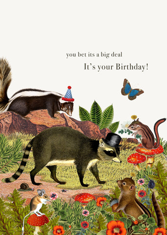 You Bet It's A Big Deal, It's Your Birthday! • 5x7 Greeting Card
