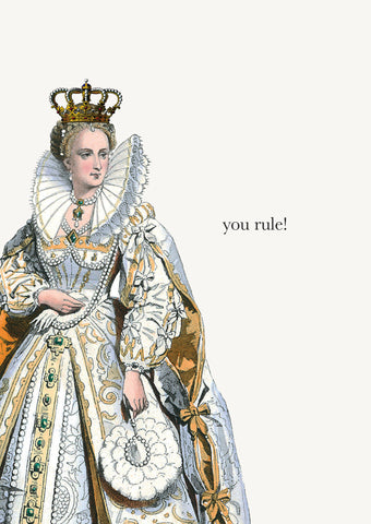 You Rule! • 5x7 Greeting Card
