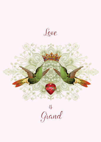 Love Is Grand • 5x7 Greeting Card