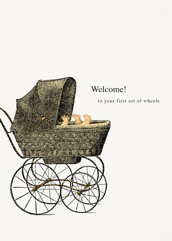 Welcome! Baby • 5x7 Greeting Card