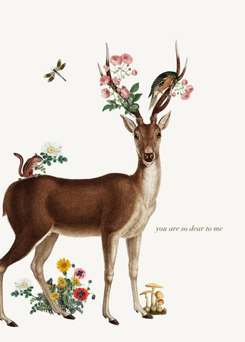 You Are So Dear To Me • 5x7 Greeting Card
