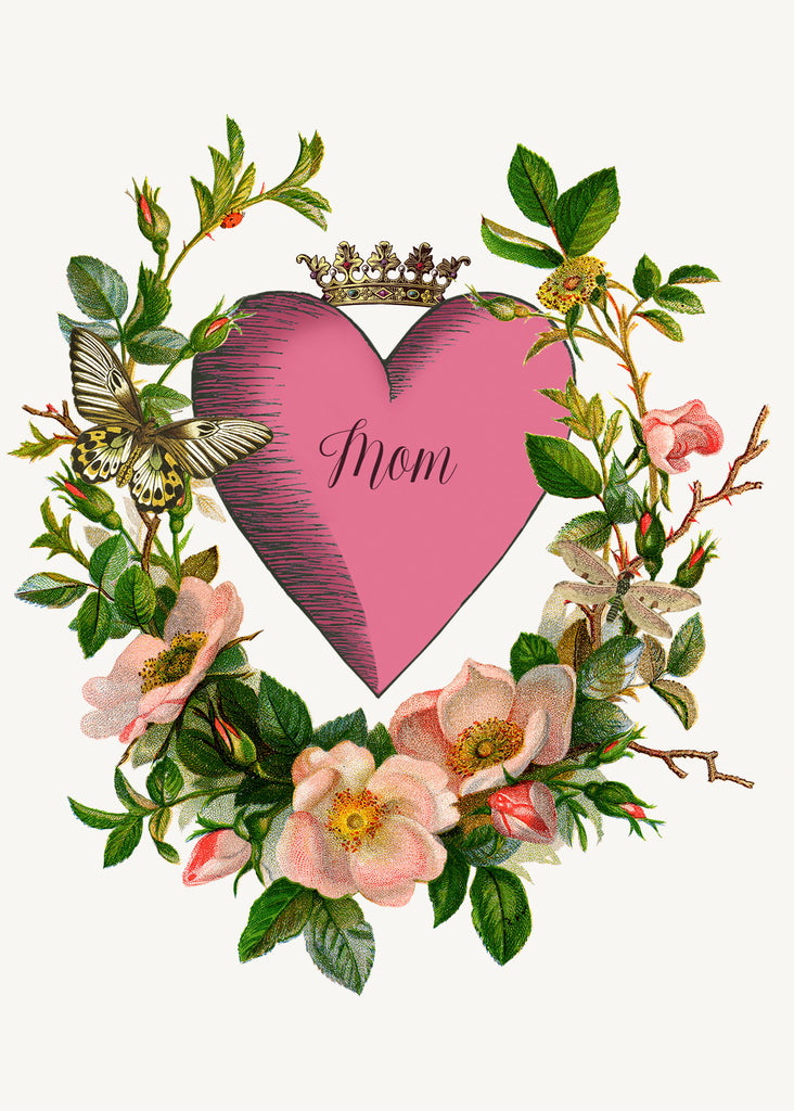 Mom Heart • A-2 Greeting Card