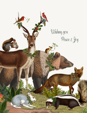 Wishing you peace • Holiday Boxed Greeting Cards