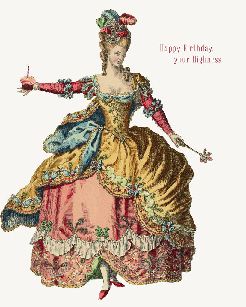 Happy Birthday Your Highness • 5x7 Greeting Card