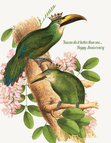 Toucan do it better  • A-2 Greeting Card