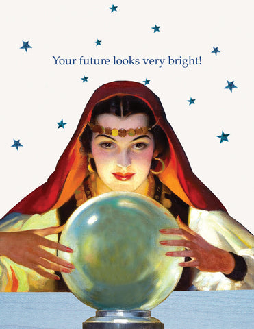 Your future looks very bright • A-2 Greeting Card