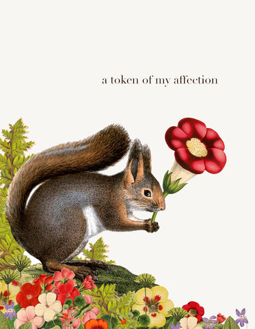A Token of My Affection • A-2 Greeting Card