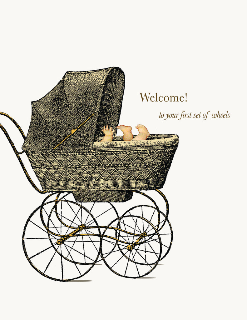 Welcome! • A-2 Greeting Card