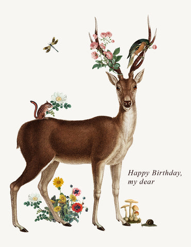 Happy Birthday My Dear • A-2 Greeting Card