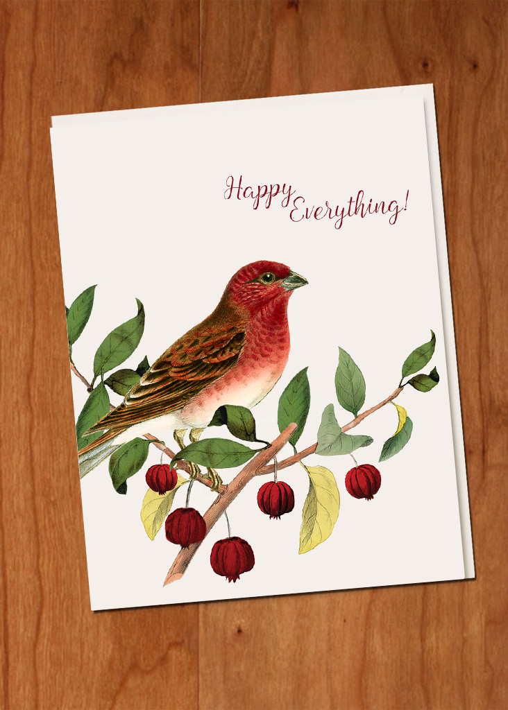 Happy Everything • A-2 Holiday Greeting Card