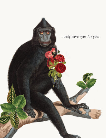 I Only have eyes for you • A-2 Greeting Card