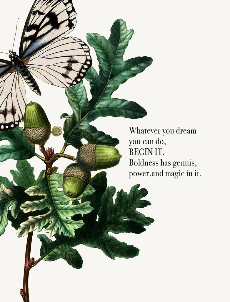 Whatever you dream you can do • A-2 Greeting Card