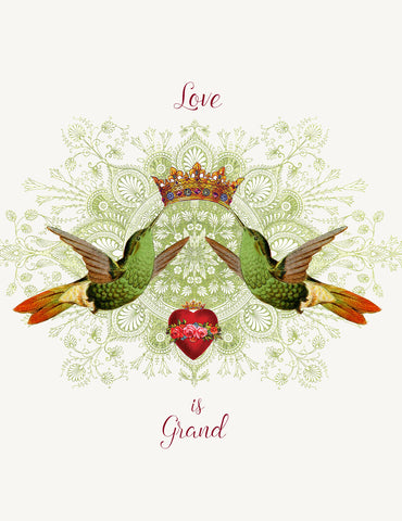 Love is Grand • A-2 Greeting Card