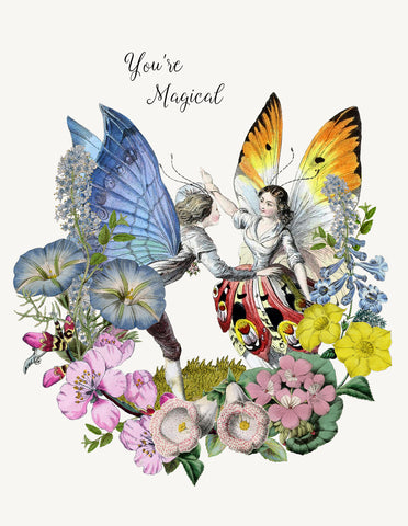 You're magical • A-2 Greeting Card