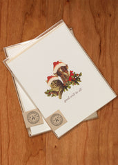 Good Will To All  ( dog & cat)• Holiday Boxed Greeting Cards