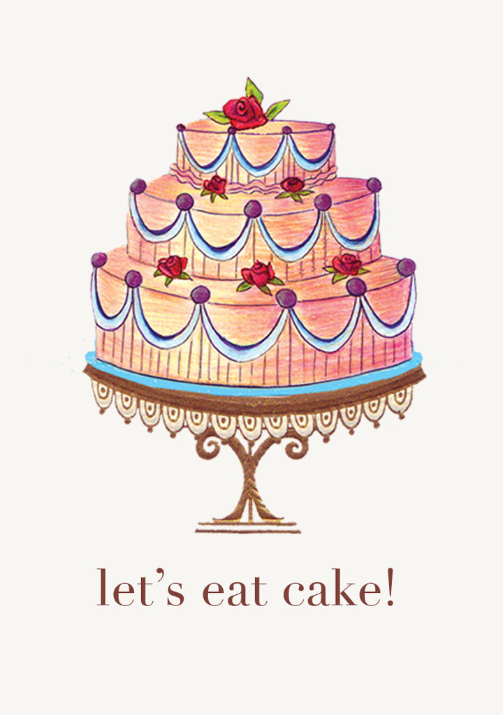 Let's Eat Cake • Mini Card